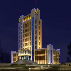 政府大楼亮化工程
